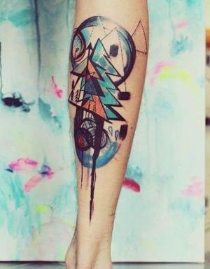 tatuajes originales para la pierna