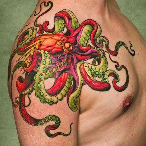 tatuajes de pulpos bonitos