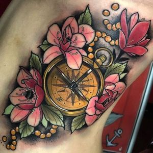tatuajes finos de relojes