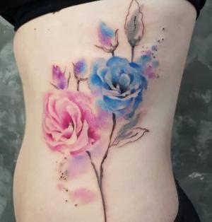 tatuaje de la tatuadora Simona Blanar